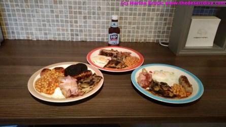 Fine Scottish Breakfast
