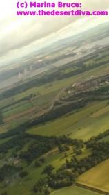 Bonnie view of the three bridges as we departed Edinburgh