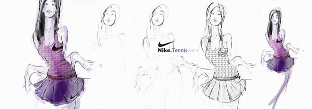 Nike-Tennis-ware-Sketch-to-Photoshop-rendering-Chou-Tac-Chung