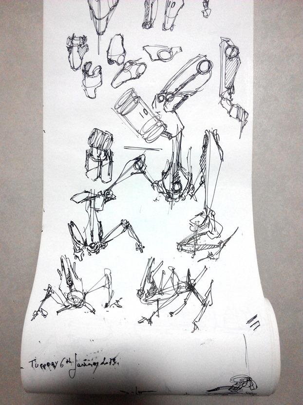sketching challenge concept art the design sketchbook i