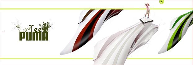 Puma Golf project - the design sketchbook
