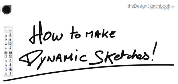 How to make Dynamic sketches