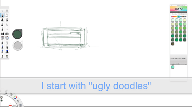 Draw my house-the design sketchbook Industrial design sketching b
