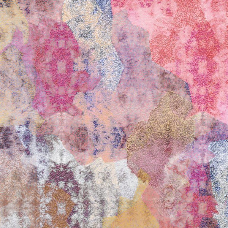 Dhina digital print scarf. Image: courtesy © Lucy Simpson