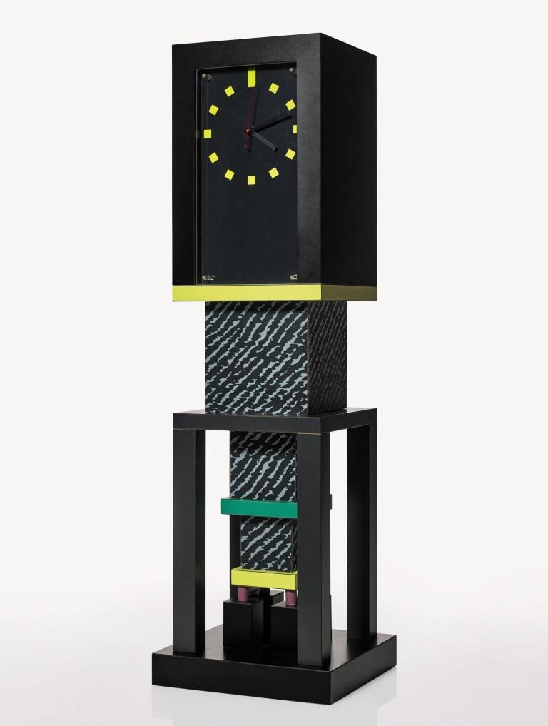 Metropole clock, Memphis, designed by George J. Sowden, 1982