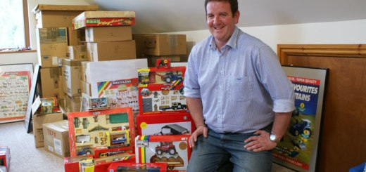 David Luxton Winner of Britains Biggest Collector Competition