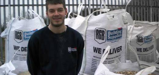 Ryan Leach, apprentice at RGB Building Supplies.