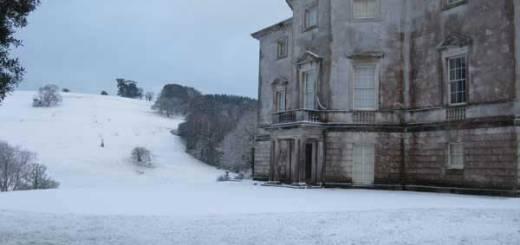 Winter at Sharpham Trust