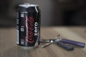 Photo de Diet Coke Zero peut : L'aspartame empêche la perte de poids, Dit Stody nouveau