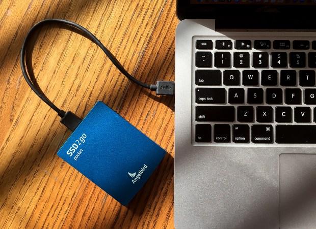 Angelbird 512 GB SSD2go drive
