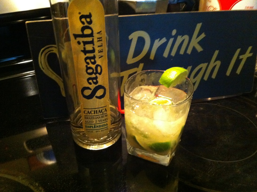 It might be easy, but it will knock you out! Caipirinha!