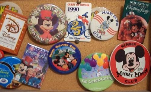 Disney Buttons