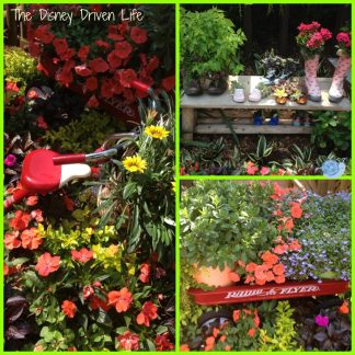 Recycle play things in your garden