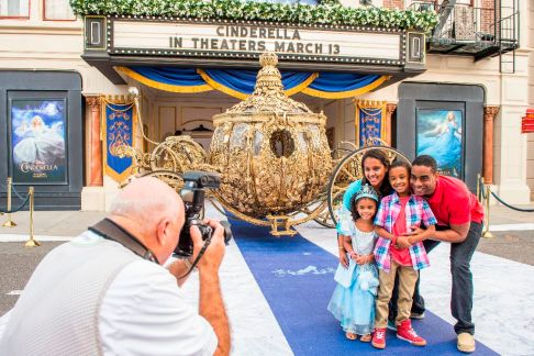 "The Golden Carriage from Disney ""Cinderella"" Glitters at Disney's Hollywood Studios"