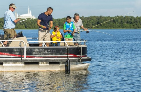 Fishing at WDW