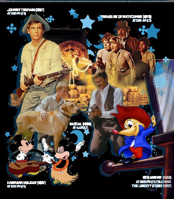TCM July Disney Vault