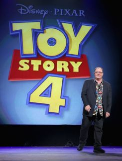 "Toy Story 4 ""Pixar And Walt Disney Animation Studios: The Upcoming Films"" Presentation At Disney's D23 EXPO 2015"