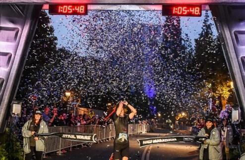DL SW Half Marathon winner