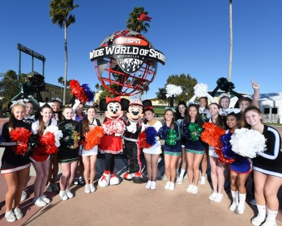 ESPN Wide World of Sports Cheerleading Announcement