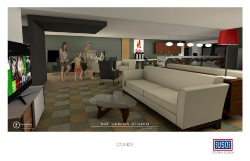 WDW Resort Salutes Military Families With Contribution to OIA Welcome Center Concept art