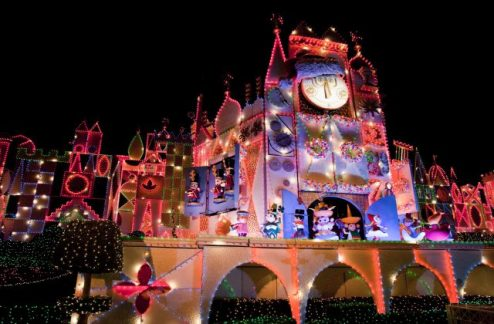Disneyland It's a Small World Holidays