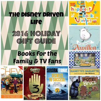 2016 Holiday Gift Guide Books for Family & TV Fans