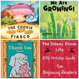 2016 Holiday Guide Beginning Readers