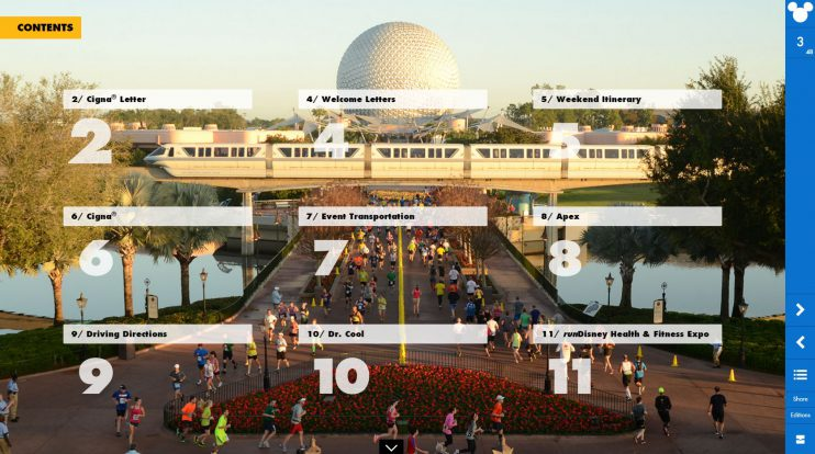 2017 Walt Disney World Runner's World Event Guide