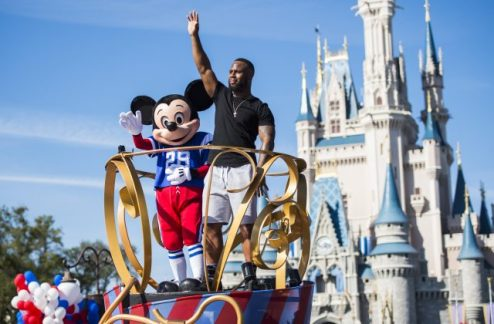 james White magic kingdom super bowl mvp 17