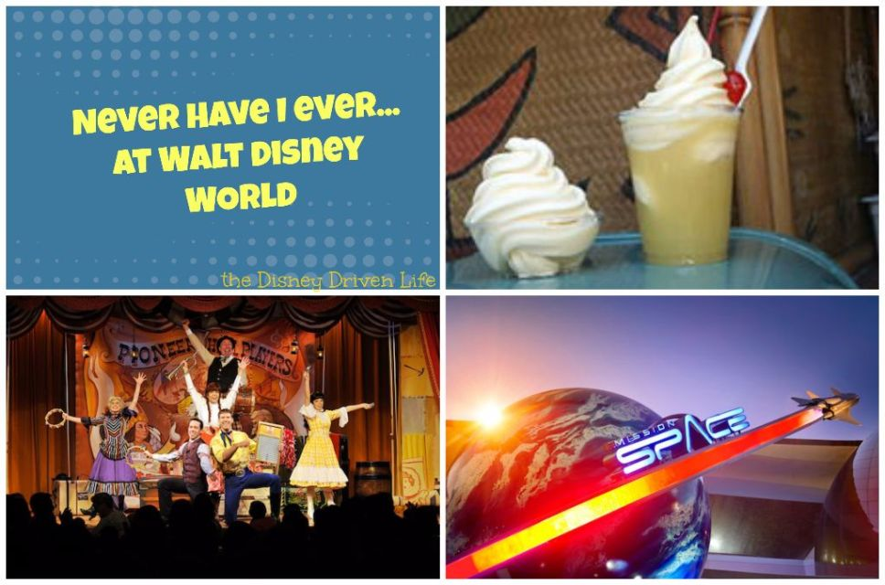 Never Have I Ever - wdw