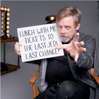Mark Hamill Star Wars Force for Change