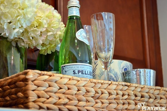 wicker Homegoods tray