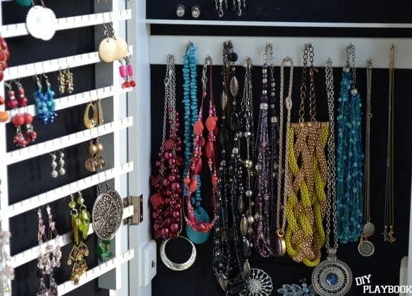 earring and necklace holder