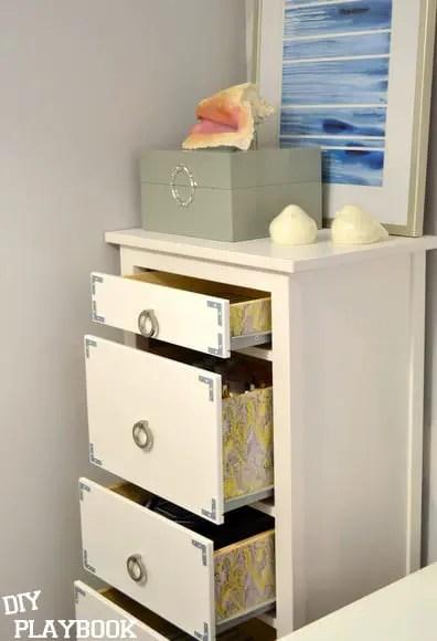 Ikea dresser after