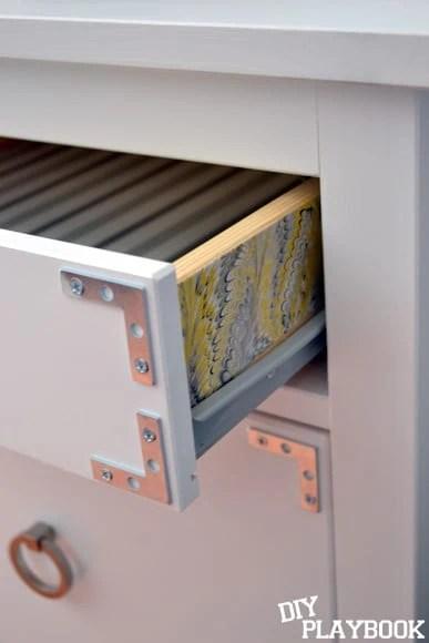 Mod podged drawers