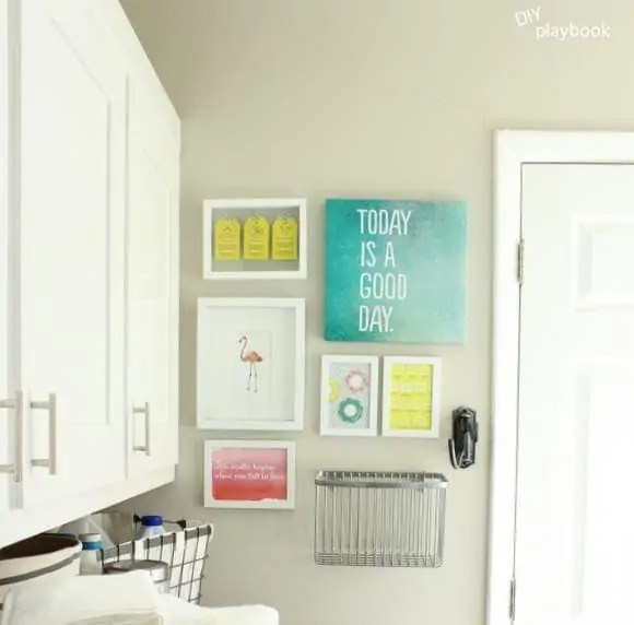 Laundry Room Gallery Wall Art