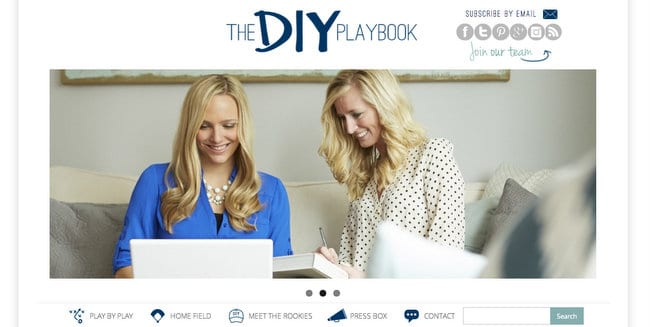 DIY Playbook Homepage