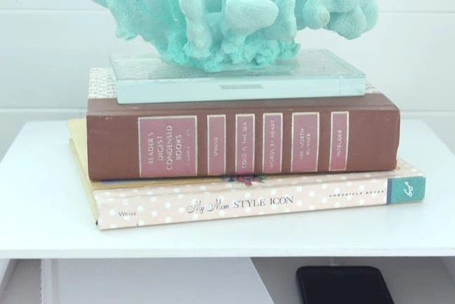 books and coral