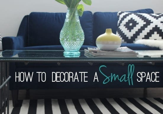 decorate a small space
