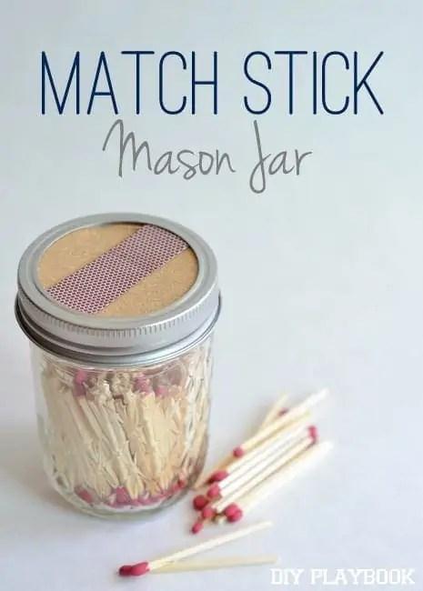 Match-Stick-Mason-Jar