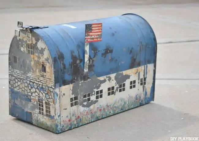 Farmhouse-Mailbox