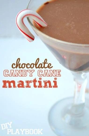 Peppermint-chocolate-martini