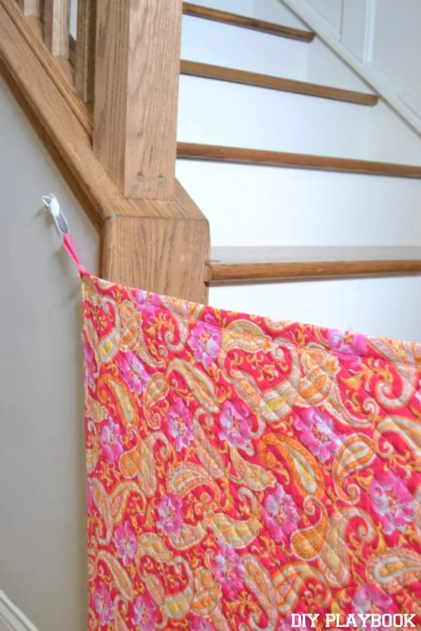 Video: DIY Fabric Baby Gate