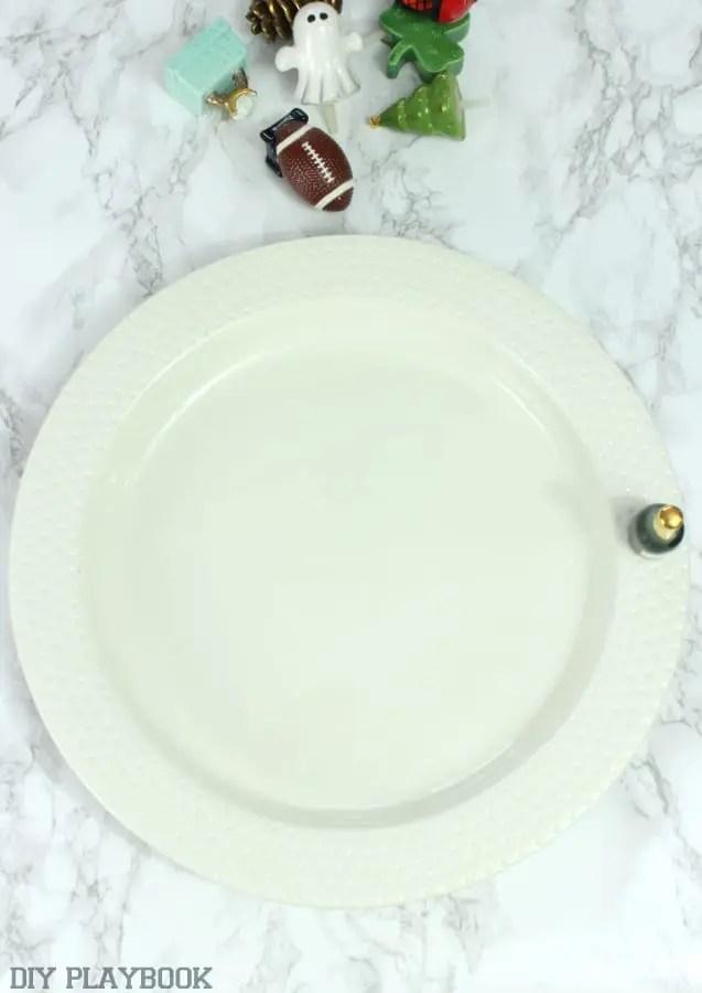 nora fleming platter