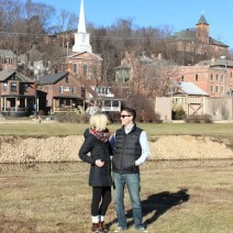 Matt Bridget first anniversary frame galena travel
