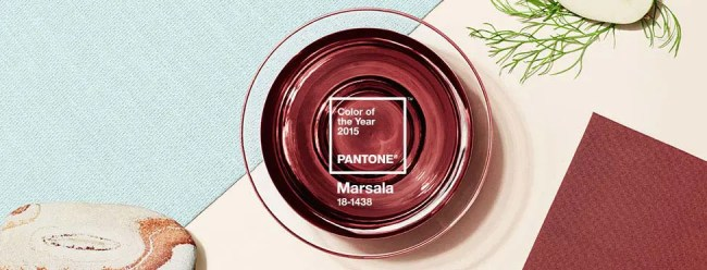 Marsala Color of the Year
