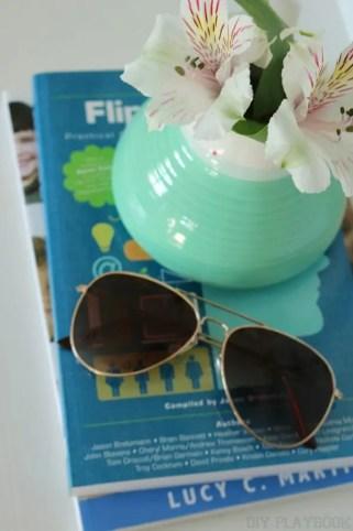 sunglasses flowers