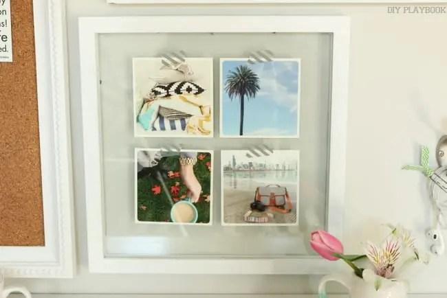 insta prints frame