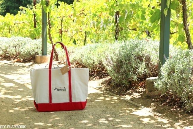 Michaels Makers Sonoma, California Bag