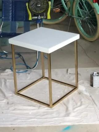 table lowe's paint